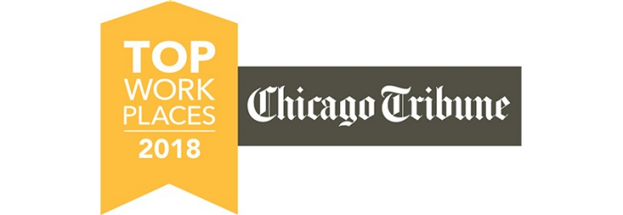 Lundbeck Named 2018 Chicago Tribune Top Workplace