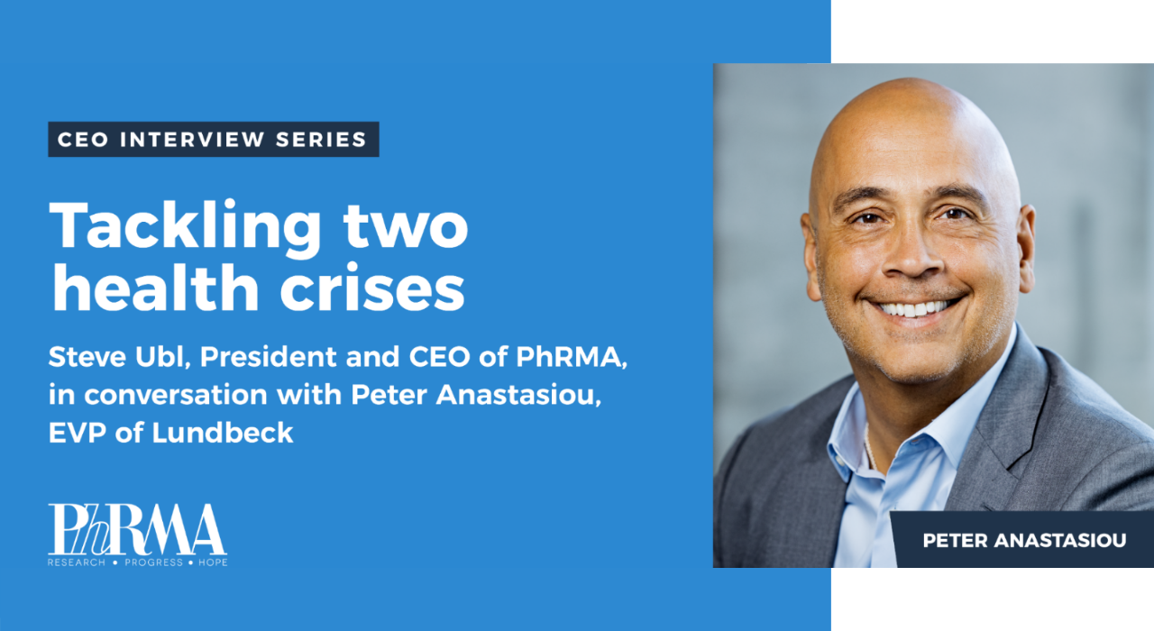 Coming Together to Fight COVID-19: A Conversation with Peter Anastasiou, Executive Vice President of Lundbeck