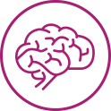 purple brain icon