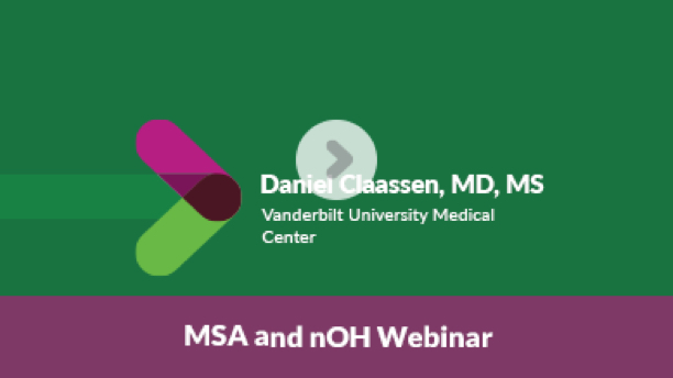 MSA and nOH Webinar Video