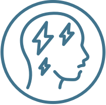 Chronic migraine efficacy results icon