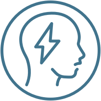 Episodic migraine efficacy results icon
