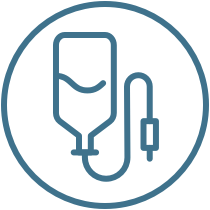 IV migraine treatment icon
